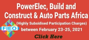 Virtual Trade Event in Africa - PowerElec, Build & Construct & Auto-Parts Africa Virtual Expo from 23-25 Feb 2021