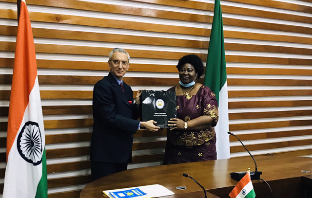 In Freetown, Secretary(ER) Shri Rahul Chhabra Co-chaired inaugural Foreign Office Consultation with DG of Sierra Leone MFA. They reviewed the entire gamut of bilateral relationship.